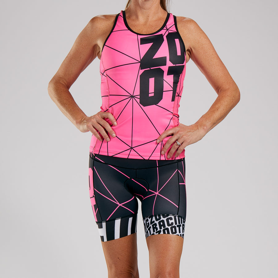 WOMENS LTD TRI RACERBACK