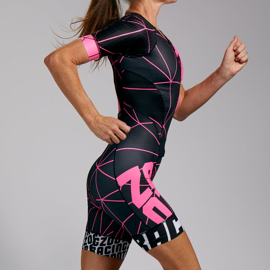 WOMENS LTD TRI AERO FULL ZIP RACESUIT