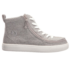 Baskets montantes enfant Grey Jersey - Billy Classic