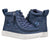 Baskets montantes enfant Blue Jean Glitter Pailleté - Billy Classic