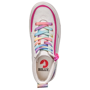 Baskets montantes enfant White Rainbow - Billy Classic
