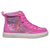 Baskets montantes enfant Pink Glitter  - Billy Classic