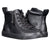 Baskets montantes enfant Faux Cuir Black - Billy Classic