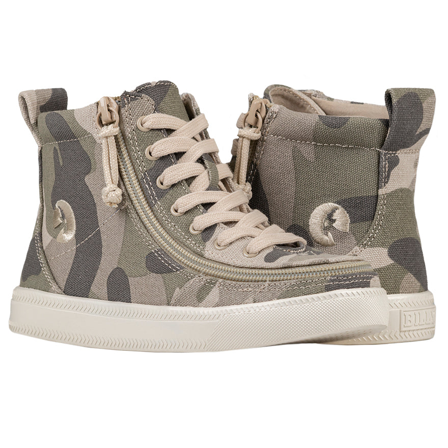 Baskets montantes enfant Camouflage - Billy Classic