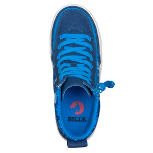 Baskets montantes enfant Blue Sharks - Billy Classic