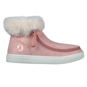 Bottes mi-hautes confortables enfant Blush Shimmer Luxe - Billy boots
