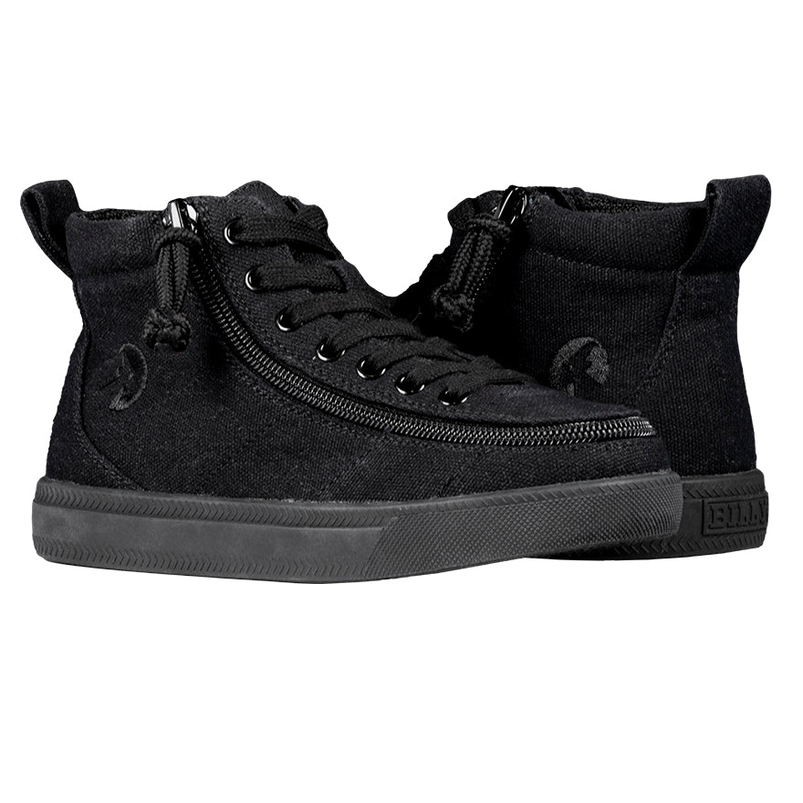 Baskets LARGE montantes enfant Black to the Floor - Billy Classic