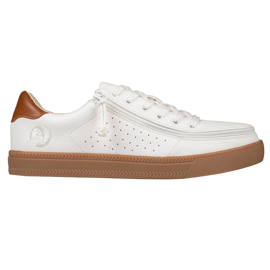 Baskets basses Homme Faux Cuir White - Billy Sneaker