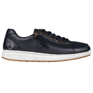 Baskets basses Homme Cuir Black - Billy Comfort
