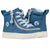 Baskets montantes bébé Denim Rainbow - Billy Classic