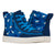 Baskets montantes bébé Blue Sharks - Billy Classic