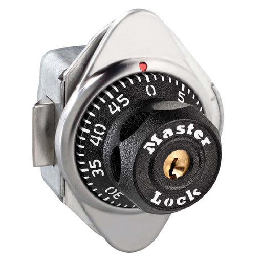 Master Lock 1654 Built-In Combination Lock for Horizontal Latch Box Lockers - Hinged on Right-Combination-LockerLock.com