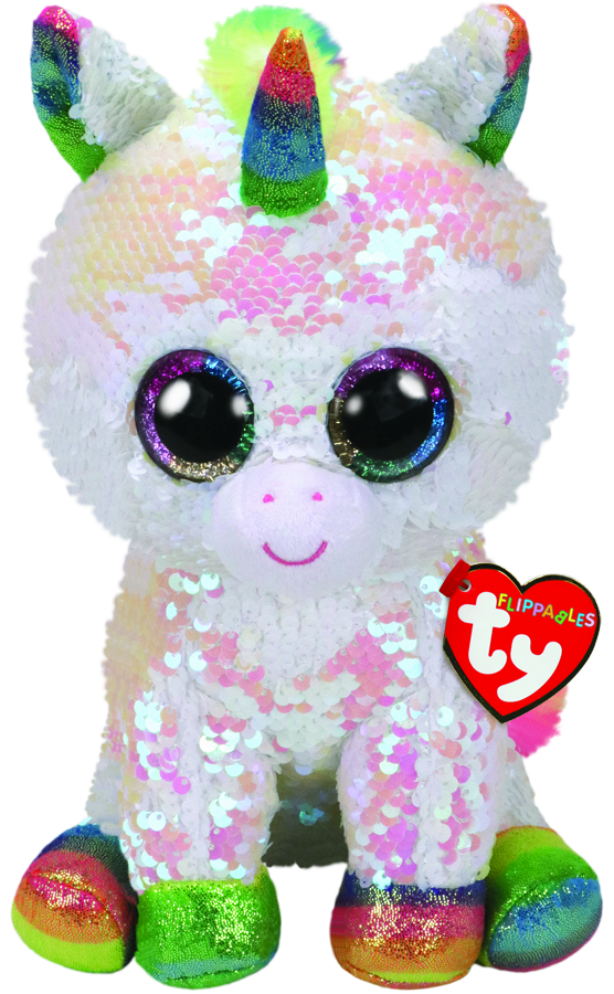 TY BEANIE BOOS FLIPPABLES PIXY THE UNICORN MEDIUM - Toyworld NZ