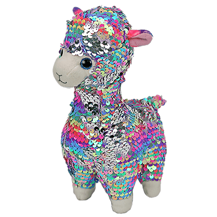 Ty Beanie Boos Flippables Lola the Llama Medium - Toyworld