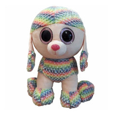 TY BEANIE BOOS XL RAINBOW THE MULTICOLOURED POODLE