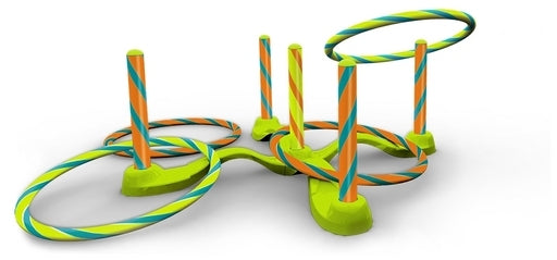Wham O Game Time! Hula Hoop Ring Toss - Toyworld