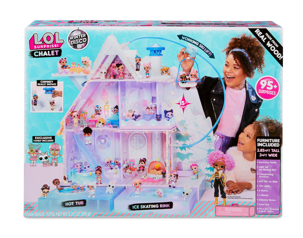 Lol Surprise Winter Disco Chalet Doll House - Toyworld