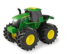 JOHN DEERE 6 INCH(15CM) MONSTER TREADS LIGHTS & SOUNDS VEHICLE TRACTOR