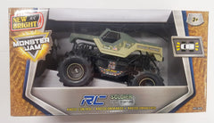 Monster Jam Rc Vehicle Soldier Fortune - Toyworld