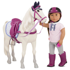 Our Generation Sterling Gray Horse Horse for Doll Img 2 - Toyworld