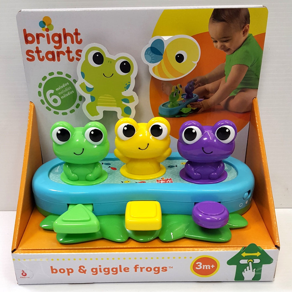 BRIGHT STARTS BOP & GIGGLE FROGS