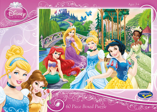 DISNEY PRINCESS 60PC BOXED PUZZLE FUN WITH FRIENDS
