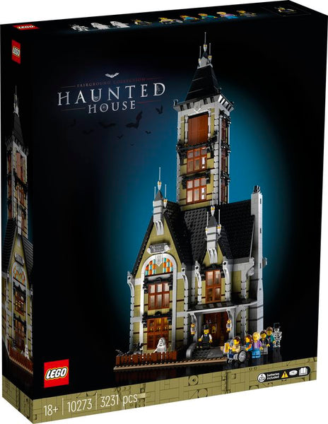 LEGO 10273 CREATOR FAIRGROUND COLLECTION HAUNTED HOUSE