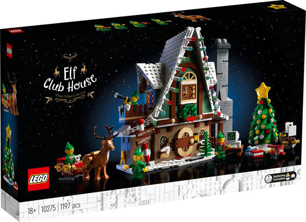 LEGO 10275 CREATOR WINTER VILLAGE COLLECTION ELF CLUB HOUSE