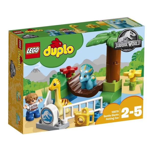 Lego Duplo Jurassic World Gentle Giants Petting Zoo - Toyworld