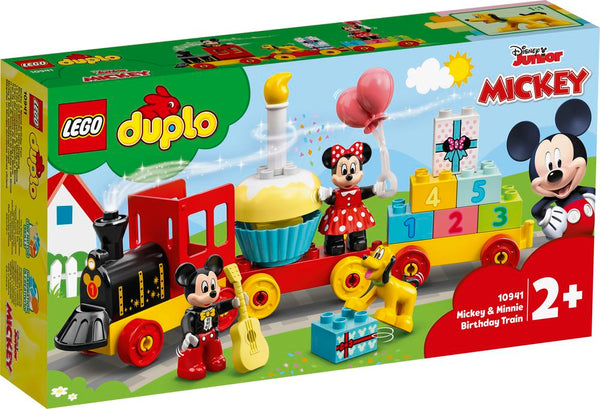 LEGO 10941 DUPLO DISNEY JUNIOR MICKEY & MINNIE BIRTHDAY TRAIN