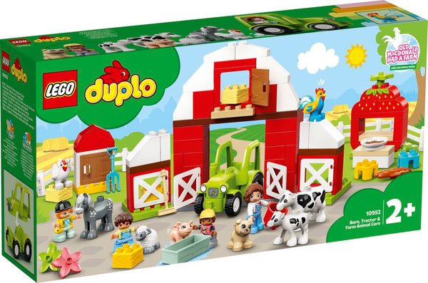 LEGO 10952 DUPLO BARN, TRACTOR & FARM ANIMAL CARE