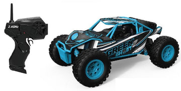 Remote Control Desert Truck Off Roader Black/blue - Toyworld