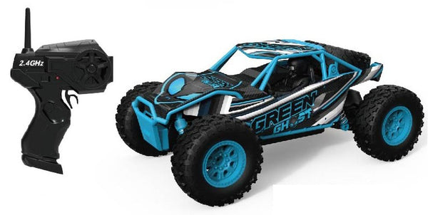 1:24 REMOTE CONTROL DESERT TRUCK OFF ROADER BLACK/BLUE
