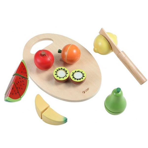 CLASSIC WORLD WOODEN CUTTING FRUIT