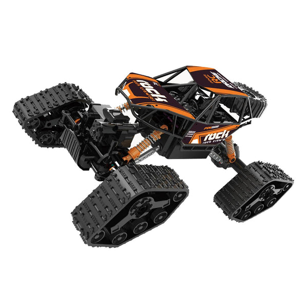 1:16 RC ROCK CRAWLER WITH SNOW SHOES