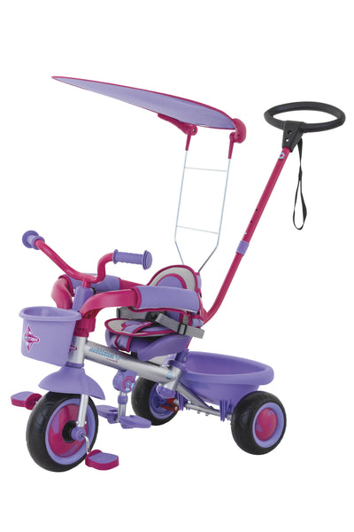 EUROTRIKE ULTIMA CANOPY PLUS AUTOSTEER GIRLS TRIKE