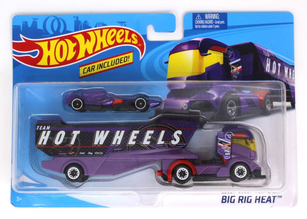 HOT WHEELS TRANSPORT RIG BIG RIG HEAT