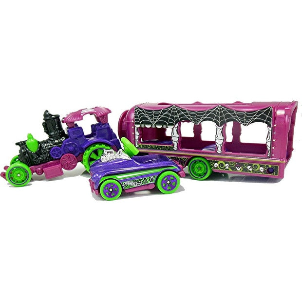 HOT WHEELS TRANSPORT RIG CAR-NIVAL STEAMER