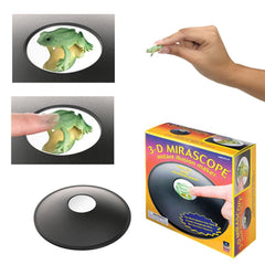 3-D MIRASCOPE INSTANT ILLUSION MAKER