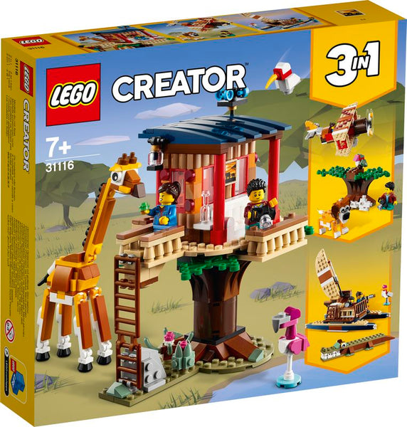 LEGO 31116 CREATOR SAFARI WILDLIFE TREE HOUSE