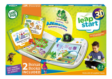 Leapfrog Leapstart 3d Interactive Learning System Green with Book - Toyworld