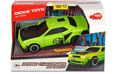 DICKIE TOYS ACTION SERIES DODGE CHALLENGER SRT HELLCAT GREEN