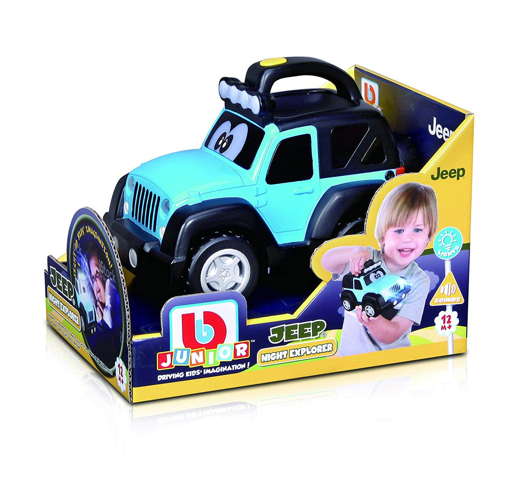 Bbjunior Jeep Night Explorer - Toyworld