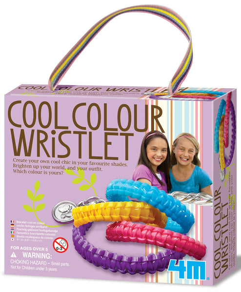 4M COOL COLOUR WRISTLETS