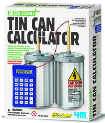 4M Green Science Tin Can Calculator - Toyworld