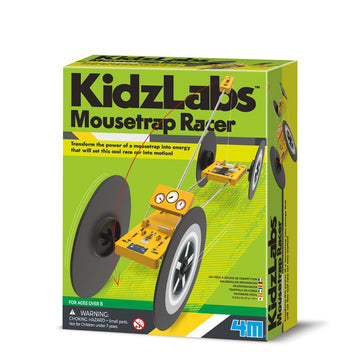 4m Kidz Labs Mousetrap Racer - Toyworld