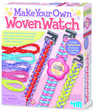 4M MAKE YOUR OWN WOVEN WATCH