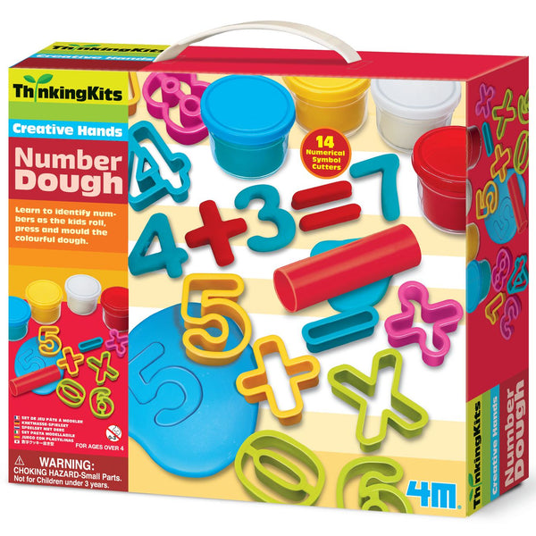4M THINKING KITS CREATIVE HANDS NUMBER DOUGH