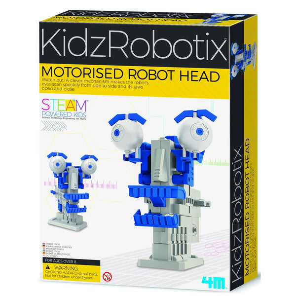 4M STEAM KIDZ ROBOTIX MOTORISED ROBOT HEAD