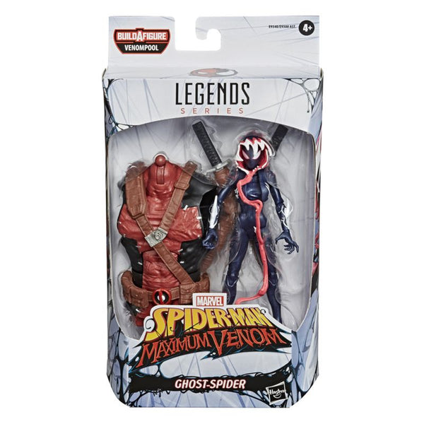 MARVEL VENOM 6 INCH LEGENDS SERIES FIGURE GHOST-SPIDER